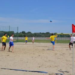 Strandfoci- és strandröplabda-pálya